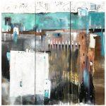 Abstraktes Bild C. Ackermann