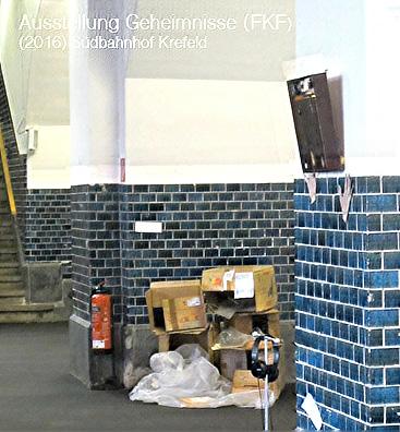 Ausstellung Südbahnhof Krefeld