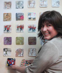 Künstlerin zeigt ihre Kunstaktion