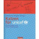 Katzenzeichnungen von Prominenten für Unicef