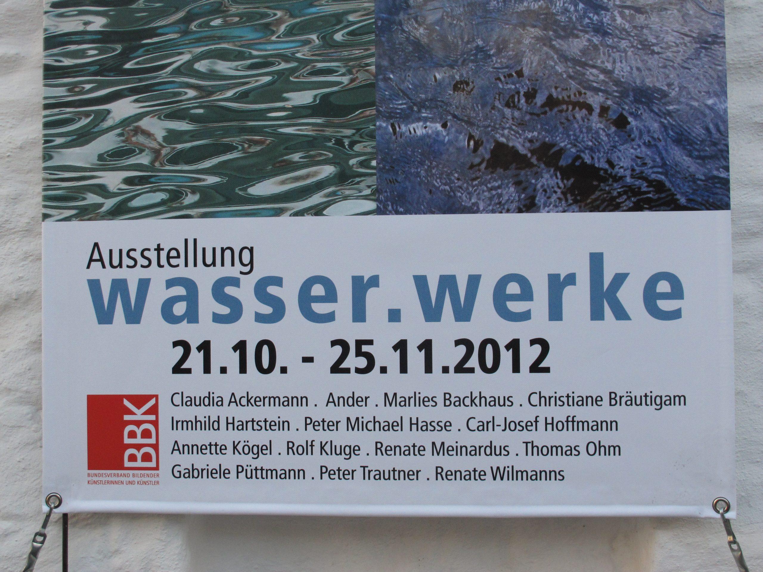 Ausstellung wasser.werke
