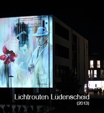 Lichtrouten Lüdenscheid