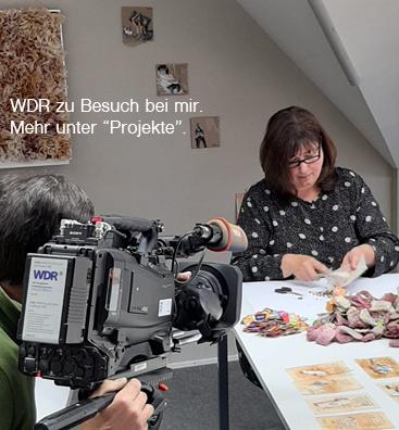 WDR bei Claudia Ackermann