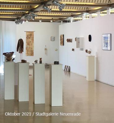Ausstellung Papier Kunst Upcyclingkunst