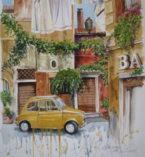 Rom Aquarell Italien